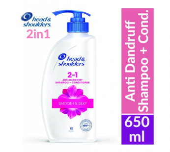 Head & shoulders 2 In1 Anti-Dandruff Shampoo & Conditioner – For Silky Smooth Care